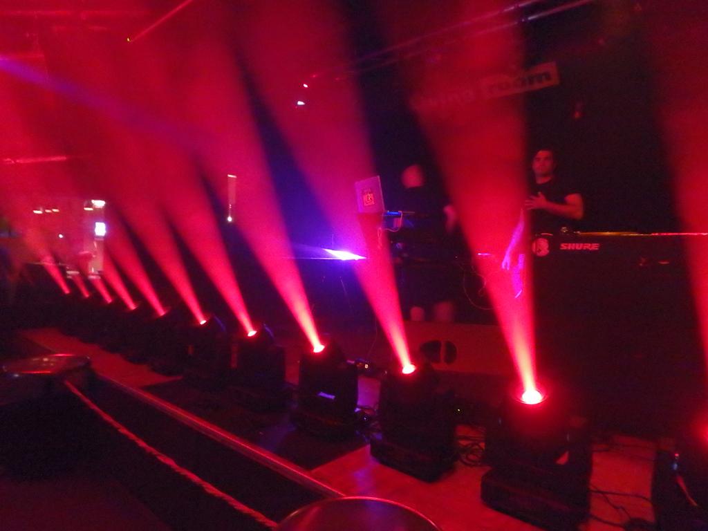 The Manchine Diaries Stage - Living Room Club, Lugano - Les Digitales Festival