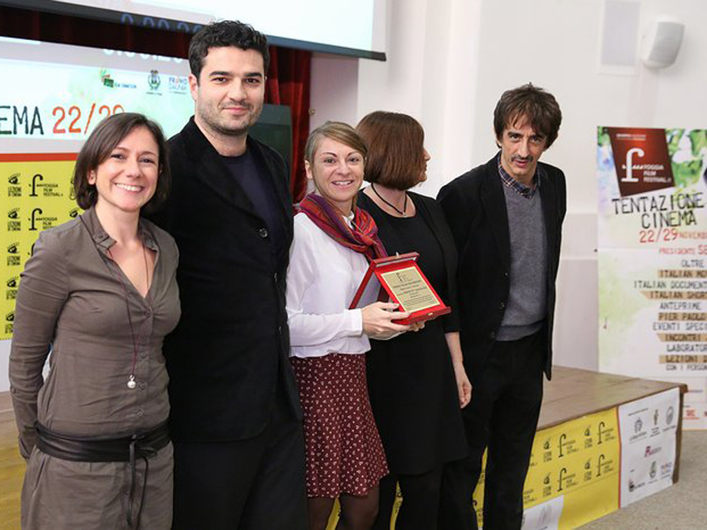 Emergency Exit (by B. Filì) best documentary at the Foggia IFF (chaired by Sergio Rubini)