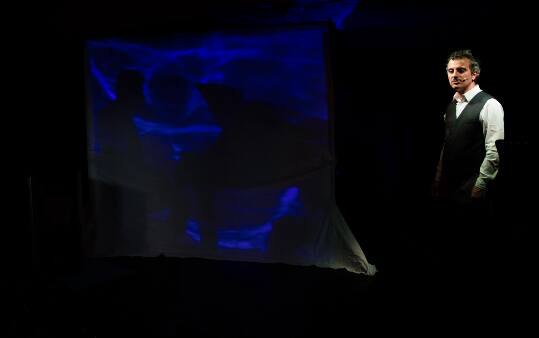 """Novecento. Un Monologo"" live performance"